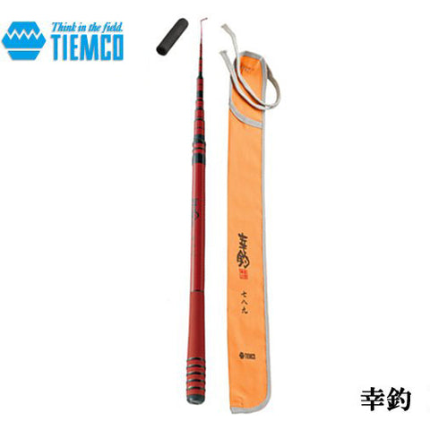 "TIEMCO Hachikan carbon adjustable microfishing rod  95-140 centimeter (3'2""-4'7"")"