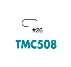 Tiemco TMC508 size 26 fly tying / microfishing hook