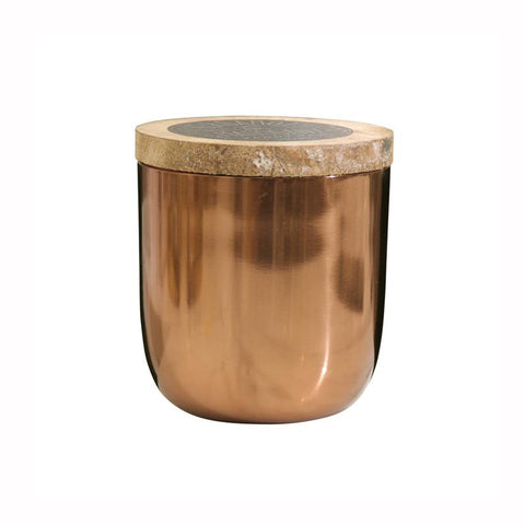 Metal Vessel Candle
