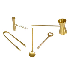 Brass Bar Tools Set