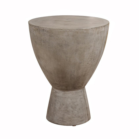 Concrete Cone Side Table