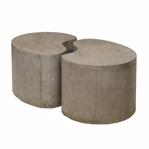 Concrete Pod Coffee Table