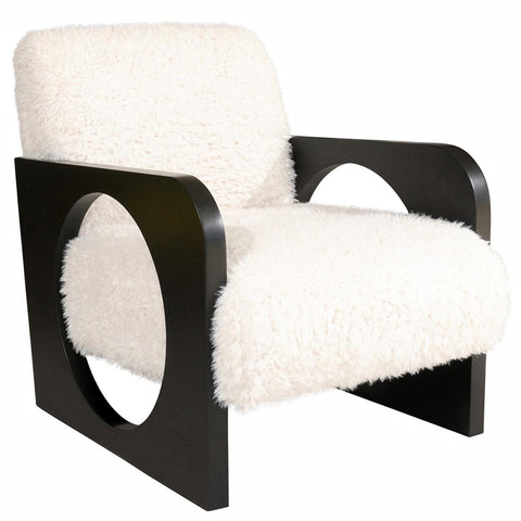 Furry Circle Chair