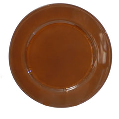 Brown Glass Plate