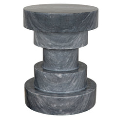 GREY STONE TIERED TABLE