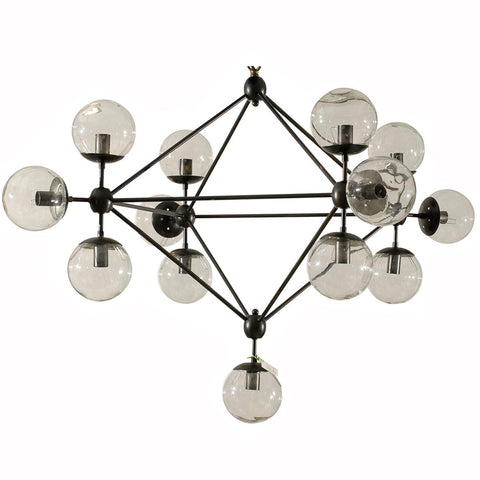 Glass Balls Chandelier
