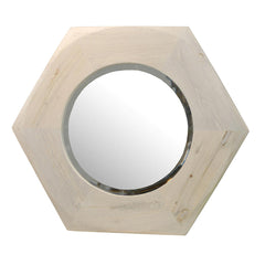 Chunky Hexagon Mirror