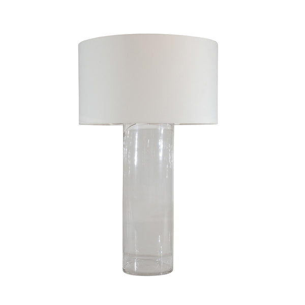 Hollow Glass Cylinder Lamp Pieces