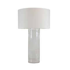 Hollow Glass Cylinder Lamp