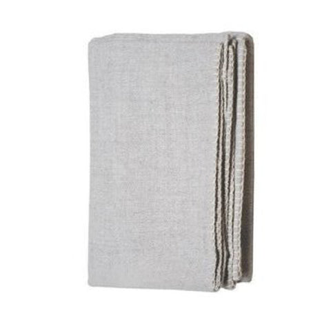 Light Grey Alpaca Throw