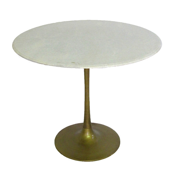 Marble & Brass Tulip Table – Pieces