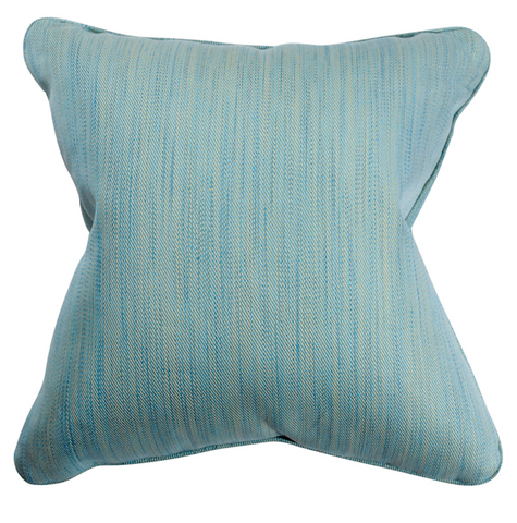 Blue Strie Pillow