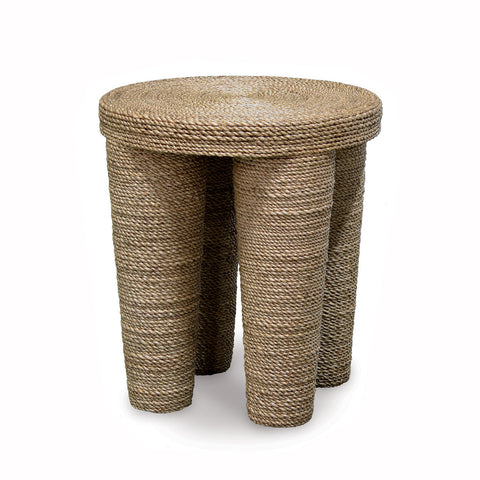 Rope Wrapped Side Table