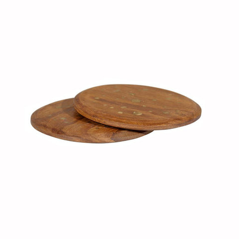 Brass & Rosewood Coasters