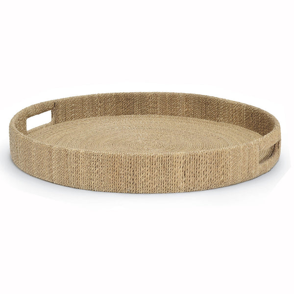 Round Rope Wrapped Tray Pieces
