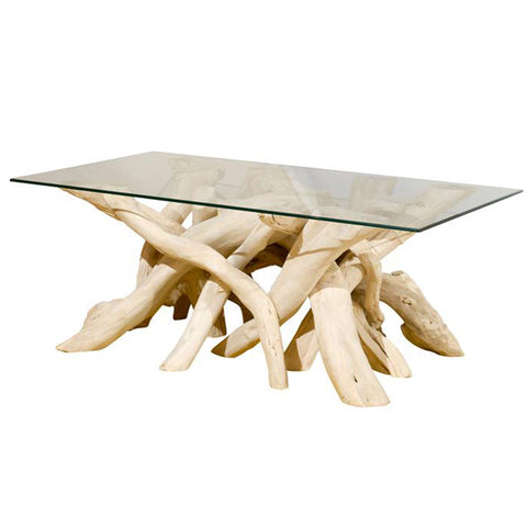 Driftwood Coffee Table.Soft Driftwood Coffee Table