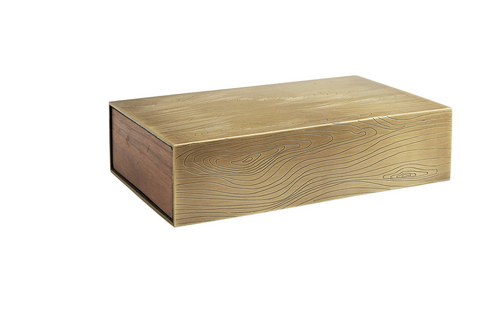 Walnut & Brass Box