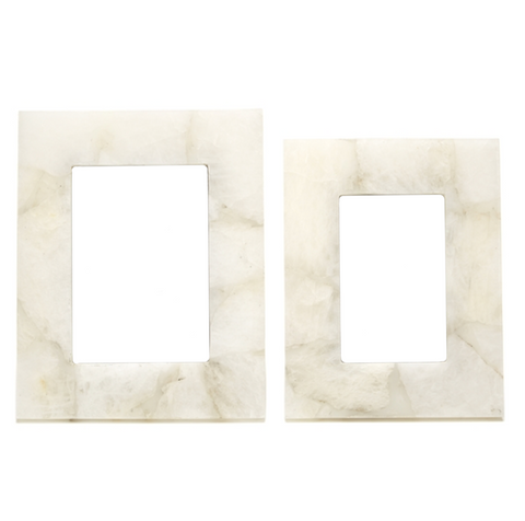 White Quartz Frames