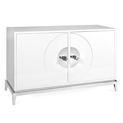 White Lacquer Buffet