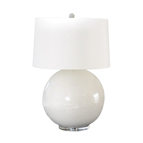 WHITE BALL LAMP