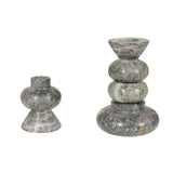 TOM DIXON ROCK CANDLE HOLDERS