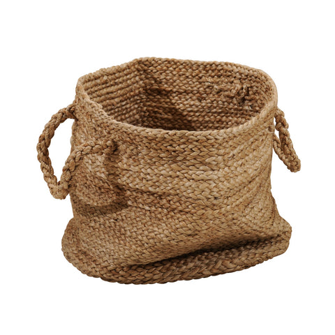 JUTE SMALL BASKET