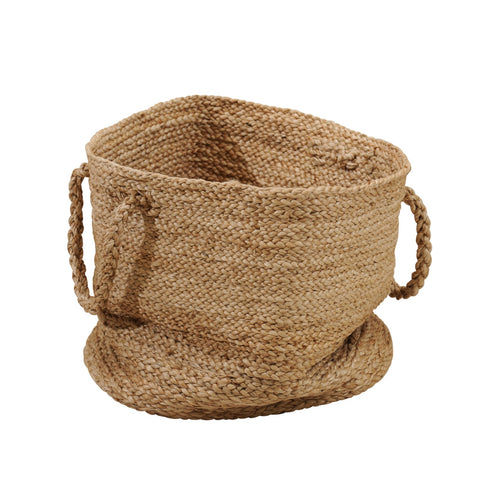 JUTE LARGE BASKET