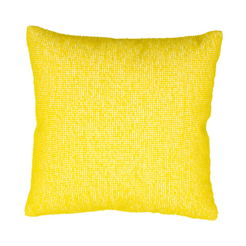 YELLOW DOT PILLOW