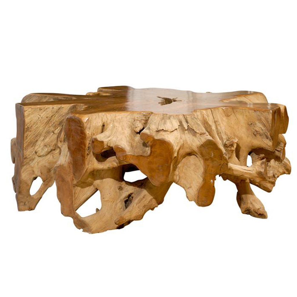 Teak root coffee table pieces teak root coffee table geotapseo Image collections