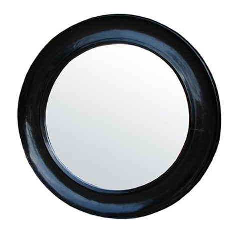 Black Mahogany Mirror