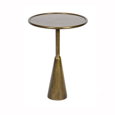 Brass Tier Side Table
