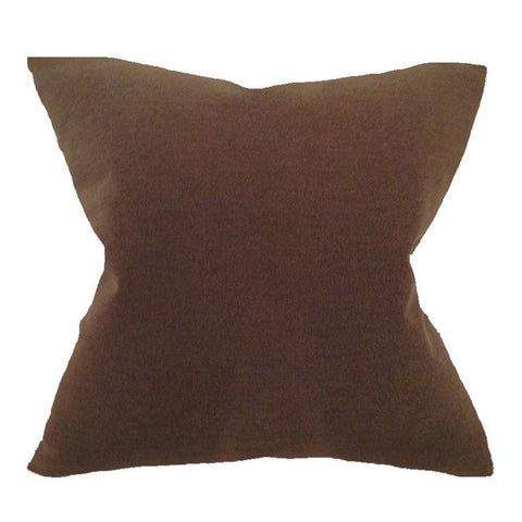 Brown Nubby Pillow