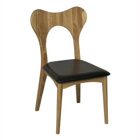 Curved Wood Chair
