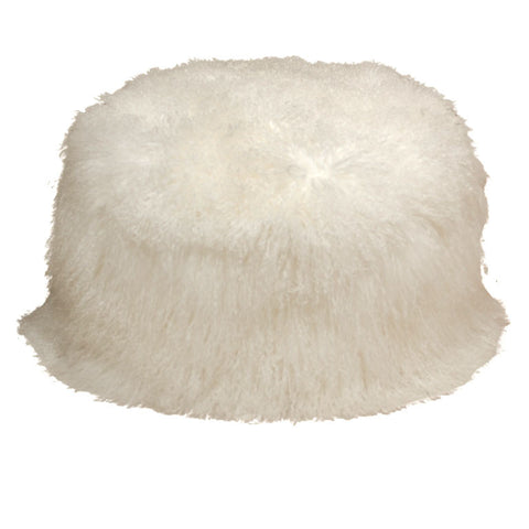 Medium Furry Pouf