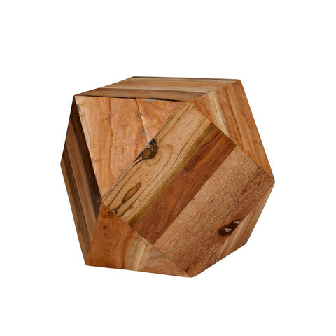 Geometric Wood Table
