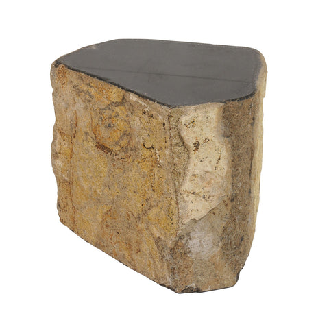 Black Granite Stool