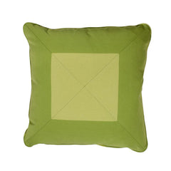 Green Tones Mitered Pillow