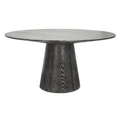 Dark Wood Dining Table