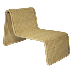 Woven Curved Lounge Chair