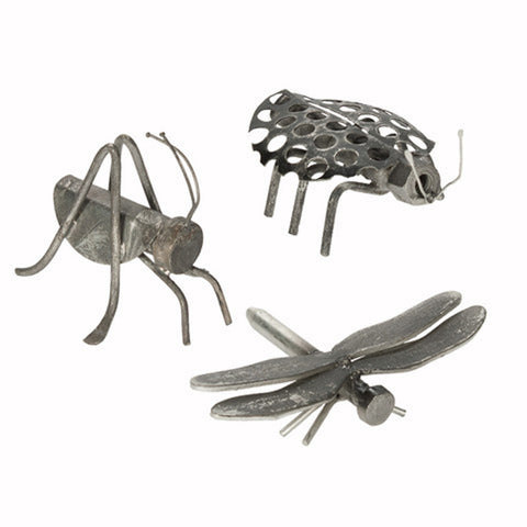 Mini Bug Screw Sculptures