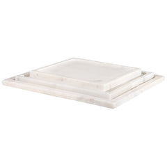 White Marble Trays