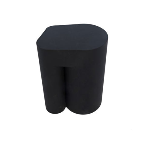 BLACK TRIPOD SIDE TABLE
