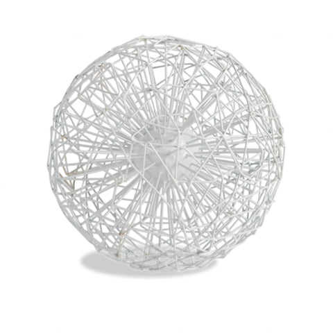 White Wire Orb