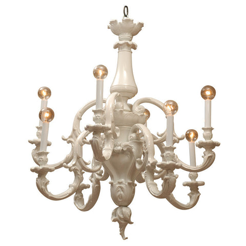 White Porcelain Chandelier