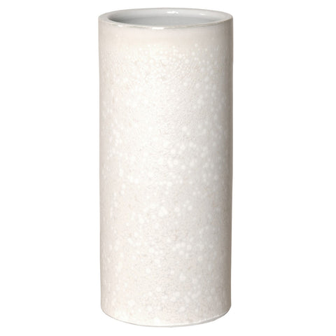 White Speckled Umbrella Stand