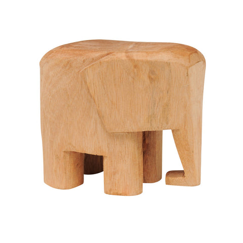 Carved Wood Elephant