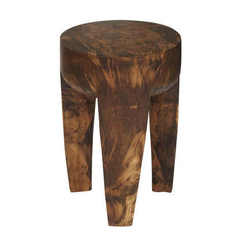 Tripod Wood Stool