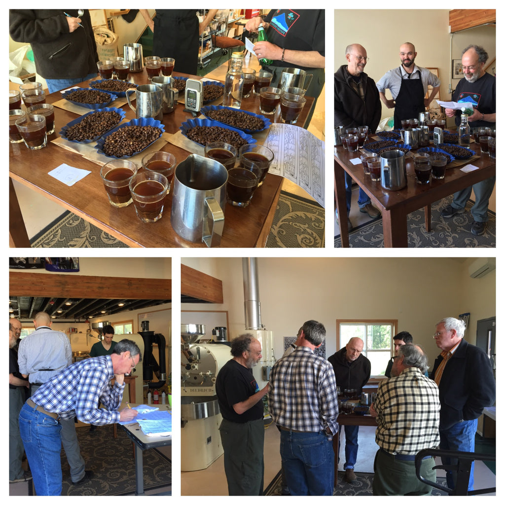 Cupping Exclusive Coffees Costa Rica Apr 2, 2016