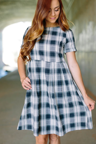 Cambridge Plaid Dress