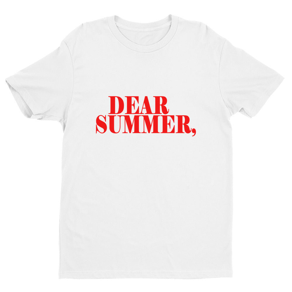 DEAR SUMMER, RED & WHITE - THREEKEYSBRAND